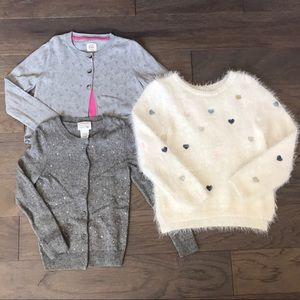 H&M, Crewcuts, Mini Boden Sweater Bundle